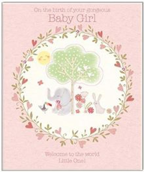 Card Baby Girl Welcome