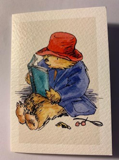 Paddington Reading Note Card