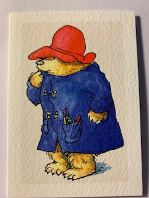Paddington Thinking Note Card