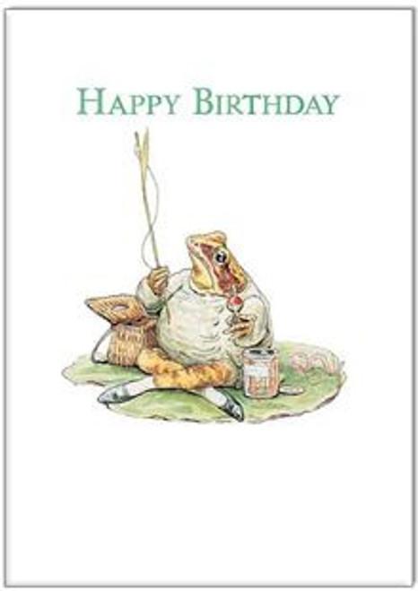 Card Happy Birthday Jeremy Fisher
