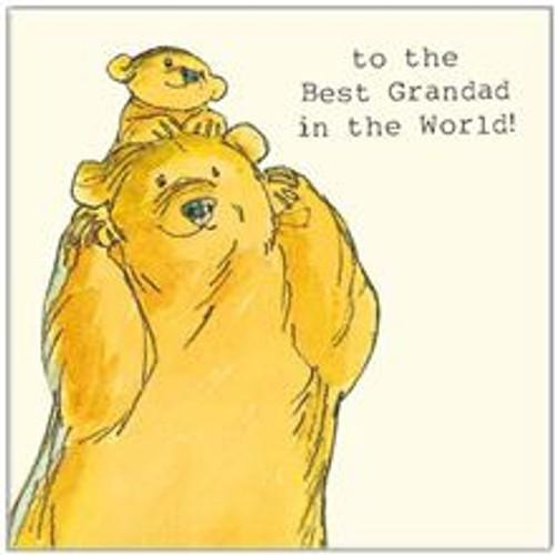 Card Best Grandad
