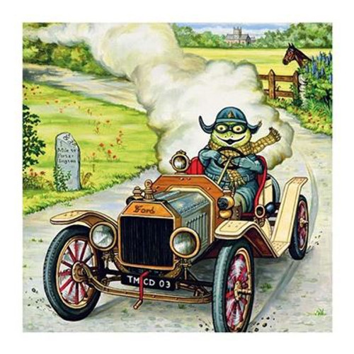 Blank Card Wind in the Willows