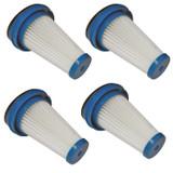 Black and Decker 4 Pack of Genuine OEM Filters for Vacuums # SVF11-4Pk