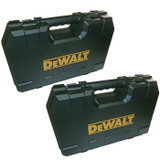 Black and Decker 2 Pack Of 20v Drill Replacement Tool Cases # N200697