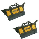 Black and Decker 2 Pack Of Genuine OEM Replacement Tool Bags # N261499-2PK