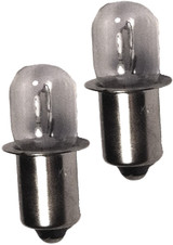 Craftsman 982137001 Flashlight Replacement 16.8v/18v Bulb (2 Pack) # 981258001