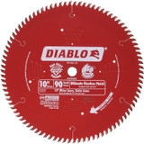 Diablo Genuine 10in x 90 Tooth Ultimate Polished Finish Saw Blade # D1090X