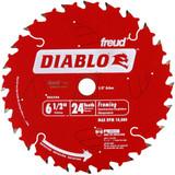 "Diablo Genuine 6-1/2"" X 24T Framing Circular Saw Blade # D0624A"