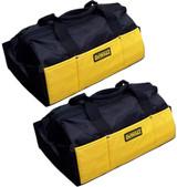 DeWalt (2 Pack) Ballistic Nylon Contractors Tool Bag # DCK019-2PK