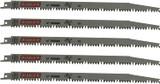 Diablo 5 Pack of Genuine 12in Fleam Ground Recip Blade for Pruning # DS1205FG5