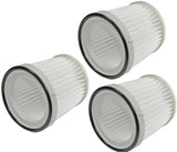 Black and Decker 3 Pack of Genuine OEM Replacement Filters # FVF100-3PK