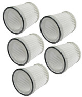 Black and Decker 5 Pack of Genuine OEM Replacement Filters # FVF100-5PK