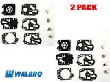 Walbro 2 Packs Of K10-WYB Carburetor Repair Kits