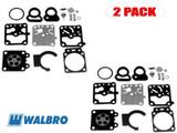 Walbro K10-WZ Carb Repair Kit for Shindaiwa Brushcutter R20L (2 Pack)
