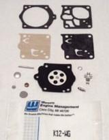 Walbro K12-HDA Carb Repair Kit for Husqvarna 3120 & 3120XP