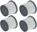 Black and Decker 4 Pack of Genuine OEM Replacement Filters # 90552433-01-4PK