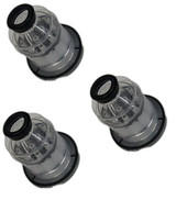 Black and Decker 3 Pack Of Genuine OEM Replacement Filters # 90614707-3PK
