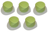 Black and Decker BD9600CHV 5 Pack OEM Replacement Filter # 90594891-04-5PK