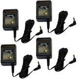 Black and Decker 4 Pack Of Genuine OEM Replacement Chargers # 90561138-01-4PK