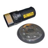 Dewalt Palm Sander Hook and Loop Backing Pad with Dust Bag # COMBO00144