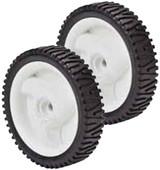 Oregon 2 Pack Of Genuine OEM Replacement Wheels # 72-033-2PK
