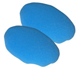 Black and Decker 2 Pack Of Genuine OEM Replacement Foam Bonnets # 580753-00-2PK