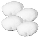 Black and Decker 4 Pack Of Genuine OEM Replacement Wool Bonnets # 580753-01-4PK