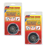 Rotary 2 Pack of Replacement Black SIlicone Rescue Tape # 14737-2PK