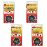Rotary 4 Pack of Replacement Black SIlicone Rescue Tape # 14737-4PK