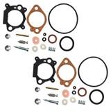 Rotary 2 Pack of Replacement Carb Repair Kits # 10237-2PK