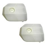 Ryobi RY3714 2 Pack of Genuine OEM Replacement Upper Air Cleaners # 518423002-2PK