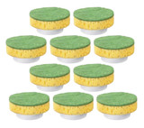Black and Decker PKS150/PKS210 10 Pack Yellow/Green Scrub Pads # 478056-00-10PK