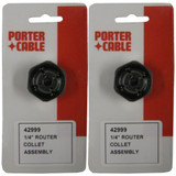 Porter Cable (2 Pack) 42999 1/4-Inch Self Releasing Collet