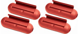 Stanley (4 Pack) EZ Outdoor Power Cord Protect Boxes, Red # 39387-4PK
