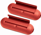 Stanley (2 Pack) EZ Outdoor Power Cord Protect Boxes, Red # 39387-2PK