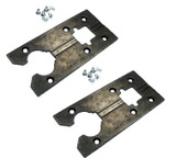 Bosch 1587AVS Replacement Metal Base Plate # 2607001085 (2 Pack)