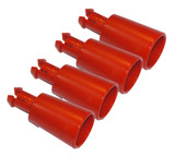 Black and Decker WM125/WM225 Workmate Replacement 4 Pack Handle # 242440-00-4PK