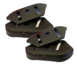 Murray Craftsman (2 Pack) Replacement Skid Height Adjustment # 1740912BMYP-2PK