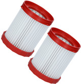 Bosch 2 Pack of Genuine OEM Replacement Filters for GAS18V-3 # 1600A017AC-2PK