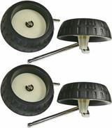 Ryobi P3260 Genuine OEM Replacement Wheel Assemblies # 019750001103-2PK