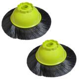Ryobi P3260 2 Pack of Genuine OEM Replacement Floor Brushes # 019750001015-2PK