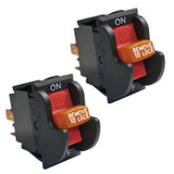 Ryobi 2 Pack of Genuine OEM Replacement Switches For SC165VS # 089051003027-2PK