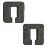 Ryobi 2 Pack of Genuine OEM Throat Plates For BS904G, BS904 # 089120406008-2PK