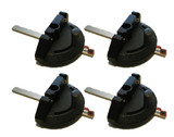 Ryobi BS904 Band Saw (4 Pack) Replacement Miter Gauge Assembly # 089120406701-4PK