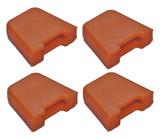 Ridgid R213BNA Nailers (4 Pack) Replacement No-Mar Pad # 079007001093-4PK