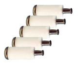Oregon (5 Pack) 07-066 Fuel Filter Replaces Poulan 530-095646 # 07-066-5PK