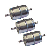 Oregon 07-111 (3 Pack) Fuel Filter 10 Micron for Kohler # 07-111-3PK