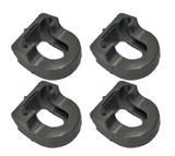 Porter Cable FN250C Finish Nailers 4 Pack No Mar Pad # 1000003300-4PK