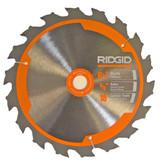 Ridgid R8651/R32031 Saw Replacement 6- 18T Carbide Blade # 681444002