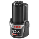 Bosch BAT415 Genuine OEM Replacement 12V 2.5Ah Lithium-Ion Battery # 2607337237